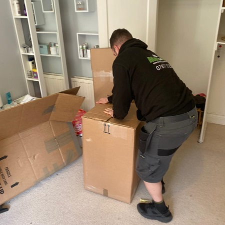 Home removals in Stevenage